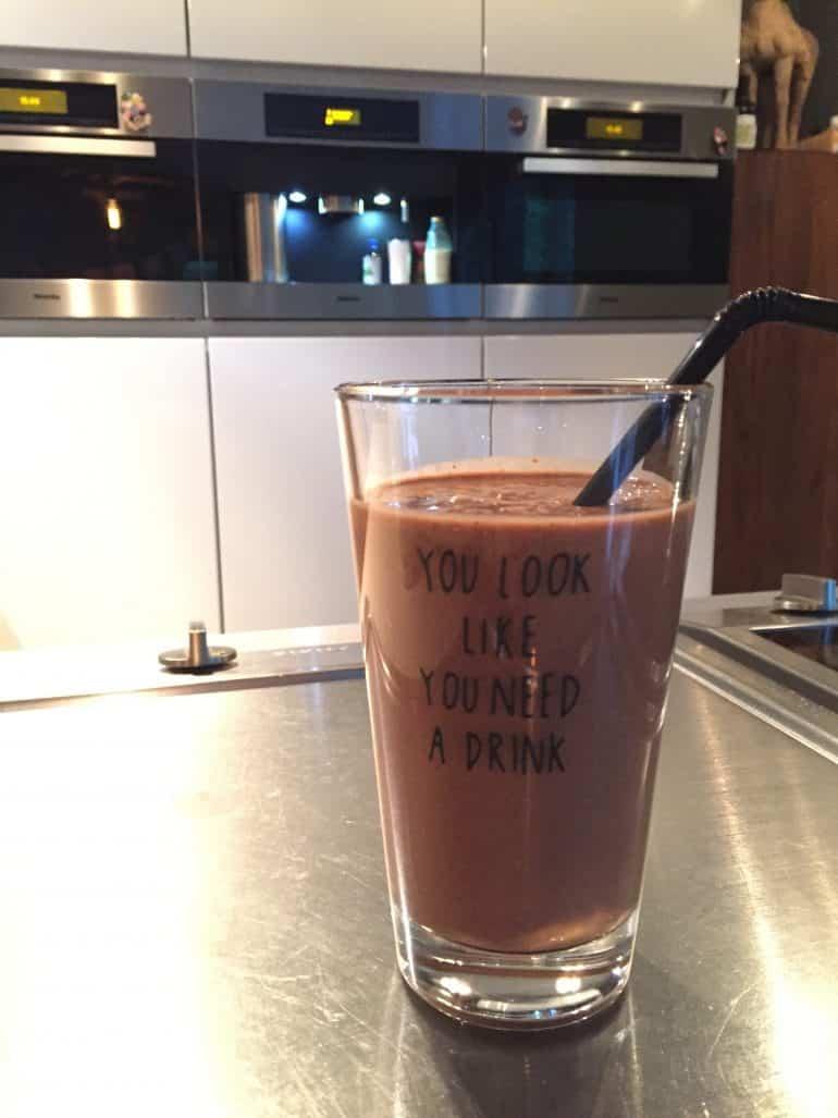 Maca Cacao smoothie