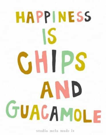 Quacamole and Chips
