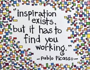 Inspiratie Pablo Picasso Today I Meet