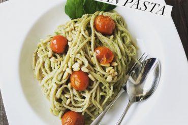 Creamy vegan pasta Today I Meet