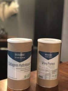collageen en whey proteine Todayimeet